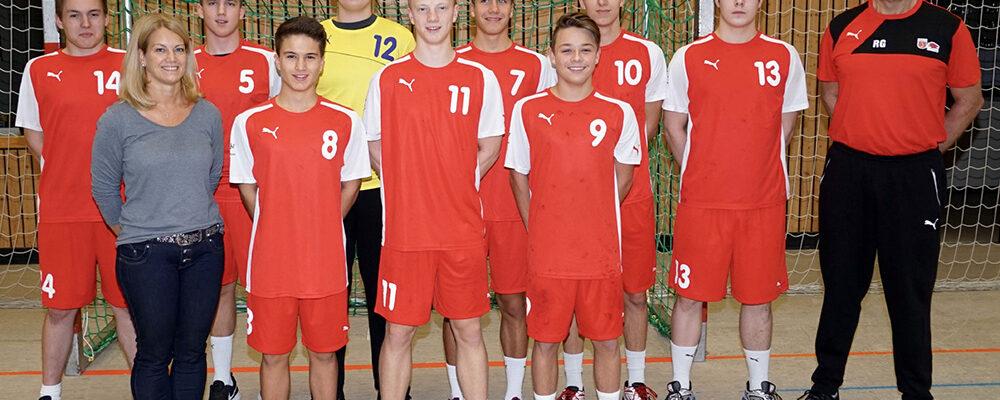 mB-Jugend verliert gegen TSV Viernheim mit 22:30