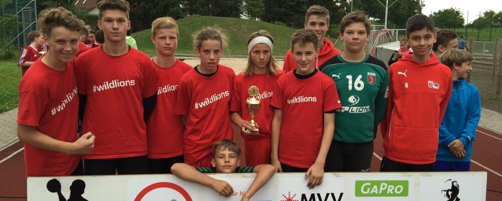 Männliche C-Jugend qualifiziert sich für Badenliga 2016/2017