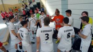 Testspiel gegen Osthofen_Vorbereitung 2016_17
