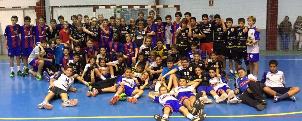 Männliche C-Jugend gewinnt gegen FC Barcelona
