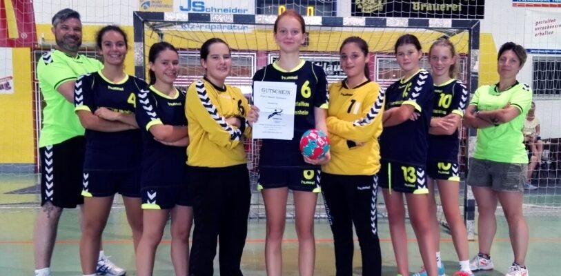 wC1 der MSG HeLeuSaase gewinnt den Odenwald Quelle-Cup