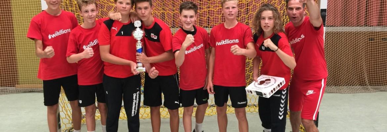 Männliche C-Jugend holt sich Turniersieg in Lampertheim