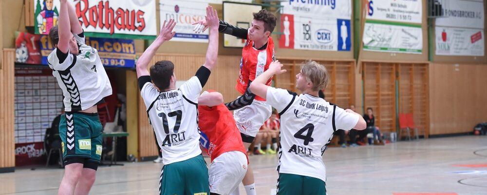 25:29-Heimnierlage gegen den amtierenden A-Jugend-Meister Leipzig