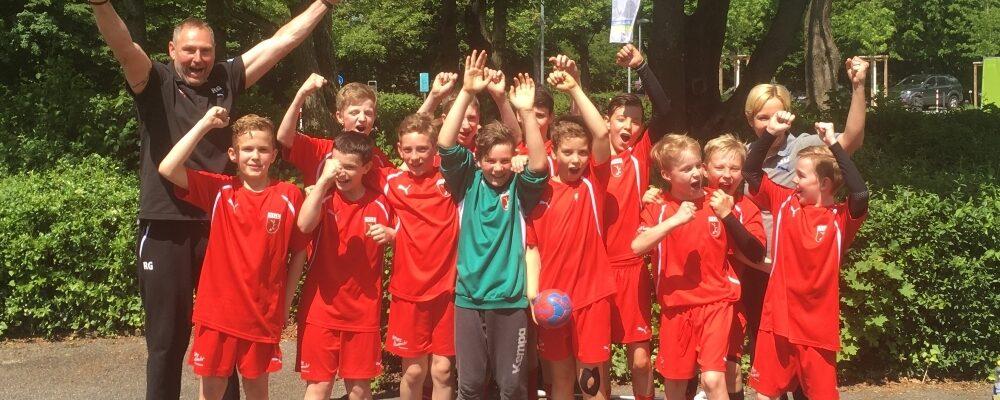 mD1-Jugend qualifiziert sich für Kreisliga 1
