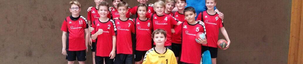 Männliche D Jugend qualifiziert sich ungeschlagen für die Landesliga 2018/2019