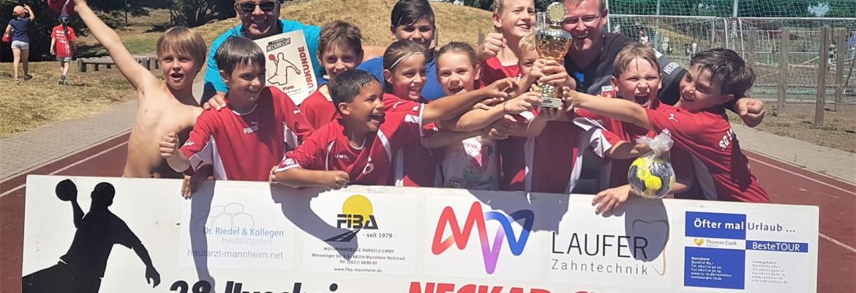 E-Jugend gewinnt Neckar-Cup 2018