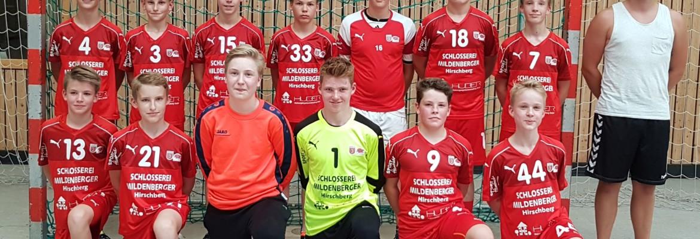 Männliche C2-Jugend gewinnt 23:24 in Dossenheim