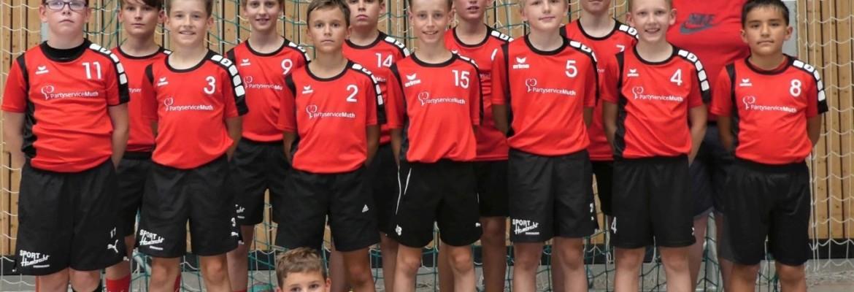 Männliche D Jugend gewinnt gegen JSG Schwarzbachtal (22:19)