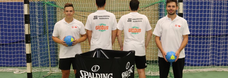 Männliche A Jugend freut sich Sponsoring