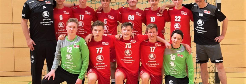 Männliche B Jugend spielt Badenliga