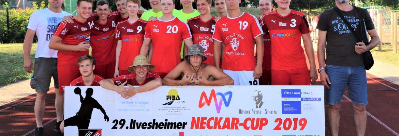 Männliche A Jugend verteidigt Titel beim Neckar-Cup