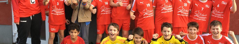 mD Jugend gewinnt gegen TSV Birkenau 22:19