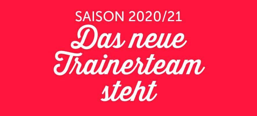 Trainerteam der Jungteufel für die Saison 2020/2021 steht